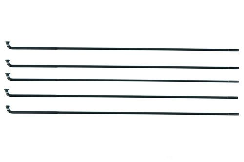 Federal Stance Butted Spokes (5 Pack) - Black 186mm